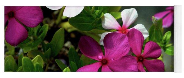 Summer Blossoms Yoga Mat