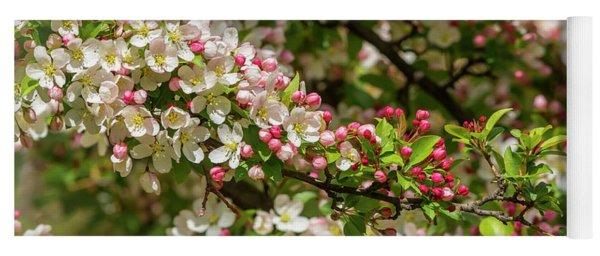 Spring Blossoms Yoga Mat