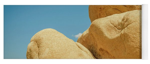 Stacked Boulders Joshua Tree Yoga Mat