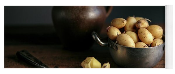 Still Life With Potatoes Yoga Mat