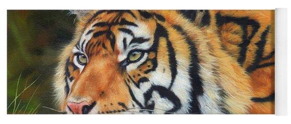 Sumatran Tiger  Yoga Mat