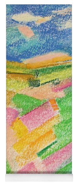Summer Fields  Yoga Mat