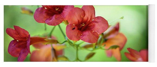 Summer Flowers Yoga Mat