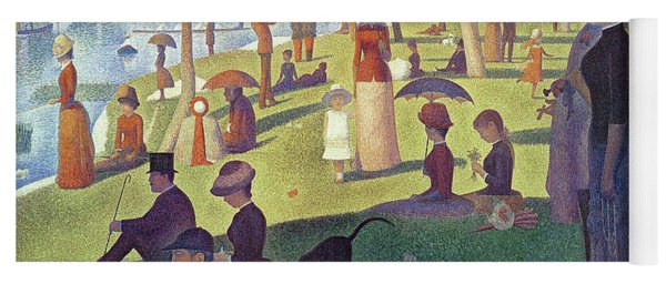 Sunday Afternoon On The Island Of La Grande Jatte Yoga Mat