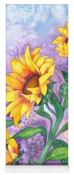 Sunny Sunflowers Yoga Mat