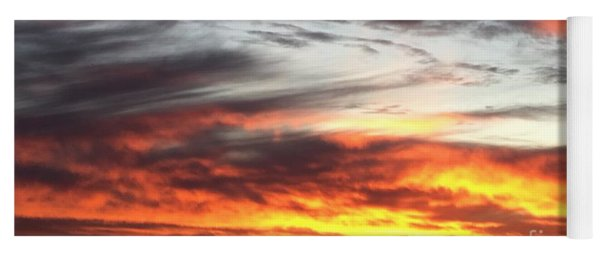 Sunrise Collection #4 Yoga Mat