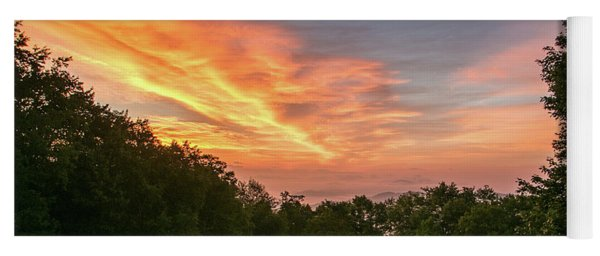 Sunrise July 22 2015 Yoga Mat