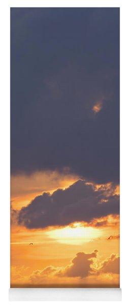 Sunset In Buesum Yoga Mat