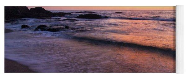 Sunset Over Laguna Beach   Yoga Mat