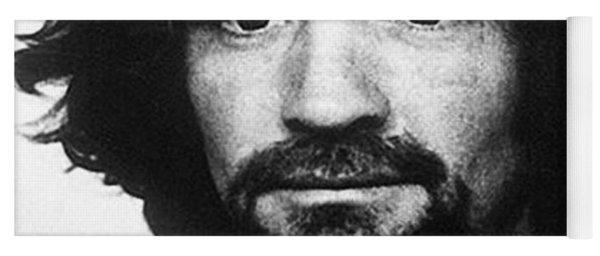 Charles Manson Mug Shot 1969 Vertical  Yoga Mat