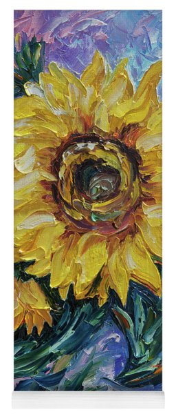 That Sunflower From The Sunflower State  Yoga Mat