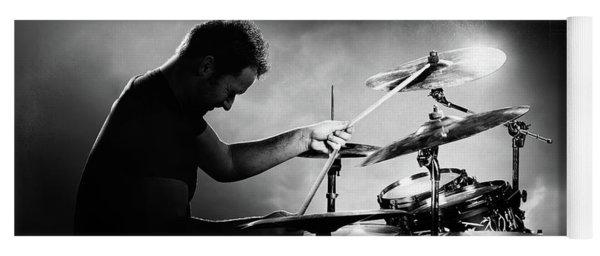 The Drummer Yoga Mat