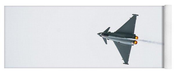 The Eurofighter Typhoon Yoga Mat