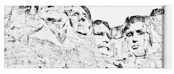 The Four Presidents Yoga Mat