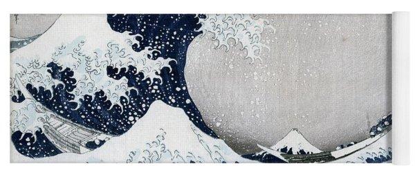 The Great Wave Of Kanagawa Yoga Mat