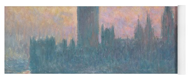 The Houses Of Parliament  Sunset Yoga Mat