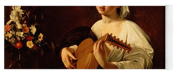 The Lute-player Yoga Mat