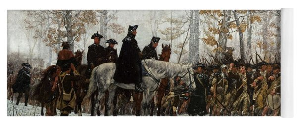 The March To Valley Forge Yoga Mat