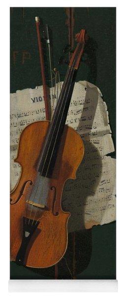 The Old Violin Yoga Mat
