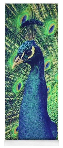 The Peacock Yoga Mat