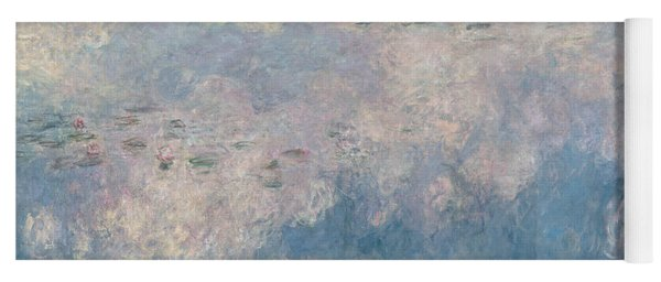 The Waterlilies  The Clouds Yoga Mat