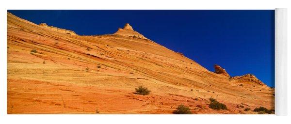 The Wave, Coyote Butte, Kanab, Utah Yoga Mat