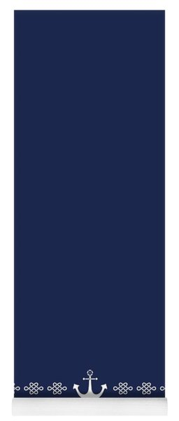 Treasure Knot And Anchor In Blue 2 Yoga Mat