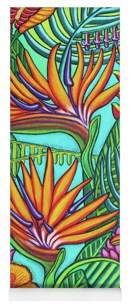 Tropical Gems Yoga Mat