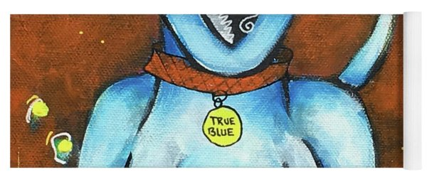 True Blue Yoga Mat