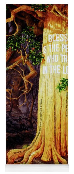 Trust In The Lord Yoga Mat