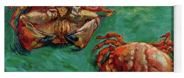 Two Crabs Yoga Mat