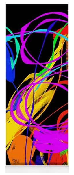 Yoga Mat featuring the digital art Untitled by Oliver