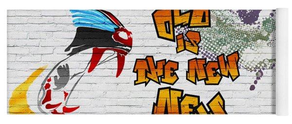 Urban Graffiti - Old Is The New New Yoga Mat