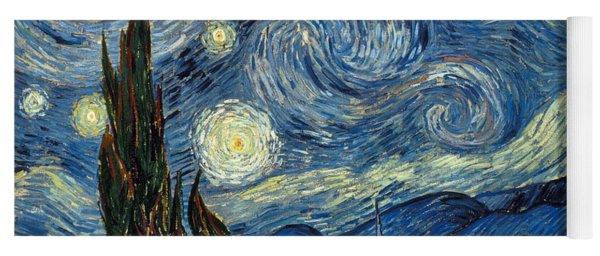 Van Gogh Starry Night Yoga Mat