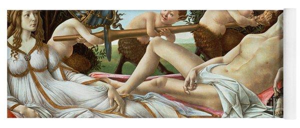 Venus And Mars Yoga Mat