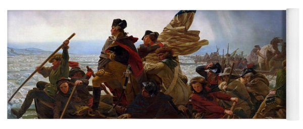 Washington Crossing The Delaware Yoga Mat