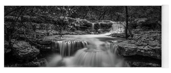 Waterfall In Austin Texas Yoga Mat