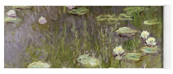 Waterlilies At Midday Yoga Mat