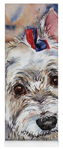 West Highland Terrier Yoga Mat