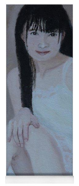 White Dress Yoga Mat