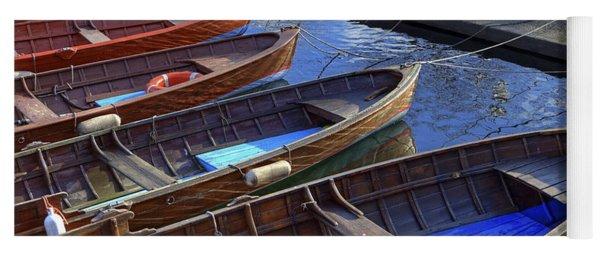 Wooden Boats Yoga Mat