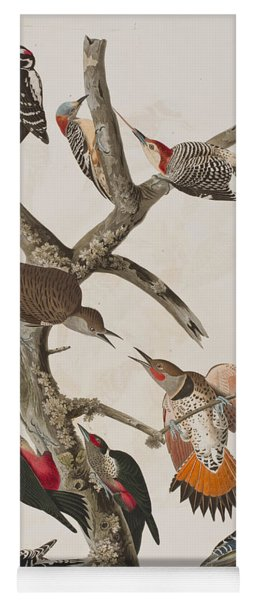 Woodpeckers Yoga Mat
