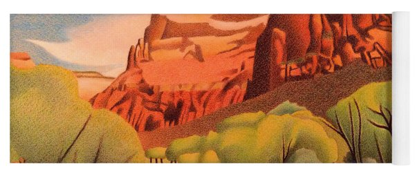 Zion Canyon Yoga Mat