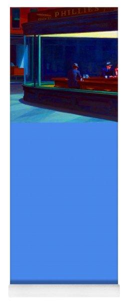 Nighthawks Yoga Mat