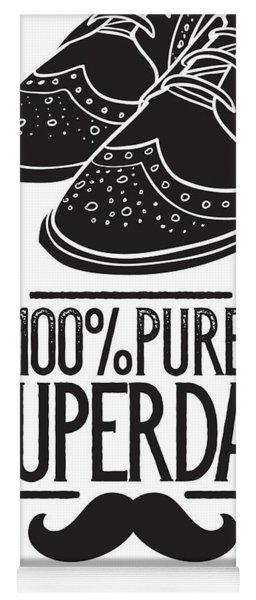 100 Percent Pure Super Dad Yoga Mat