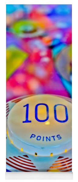 100 Points - Pinball Yoga Mat