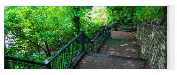 100 Steps - Wissahickon Yoga Mat