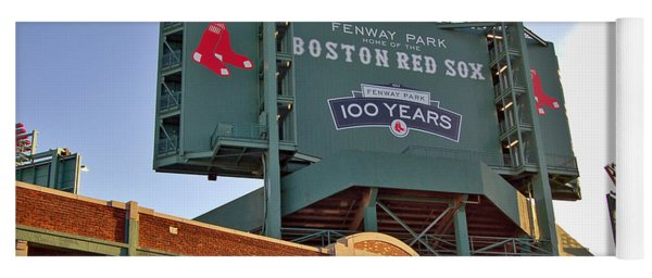 100 Years At Fenway Yoga Mat