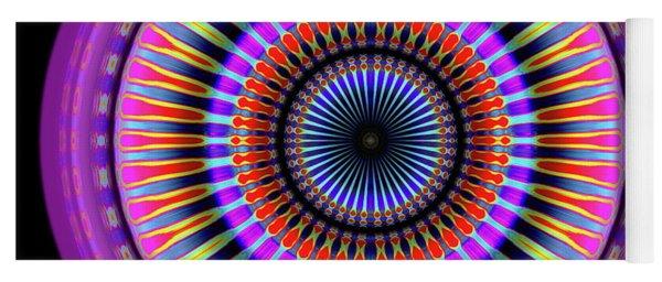 Yoga Mat featuring the digital art 101520177 by Visual Artist Frank Bonilla