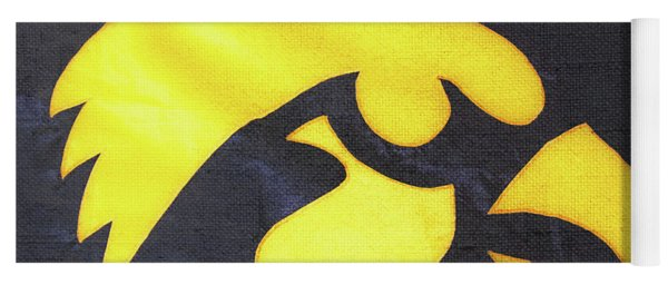 10724  Iowa Hawkeye Yoga Mat